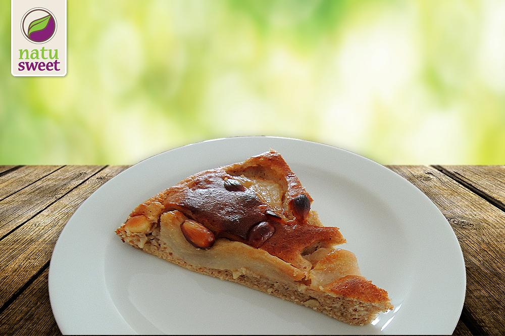 Hruškový koláč s mandlemi