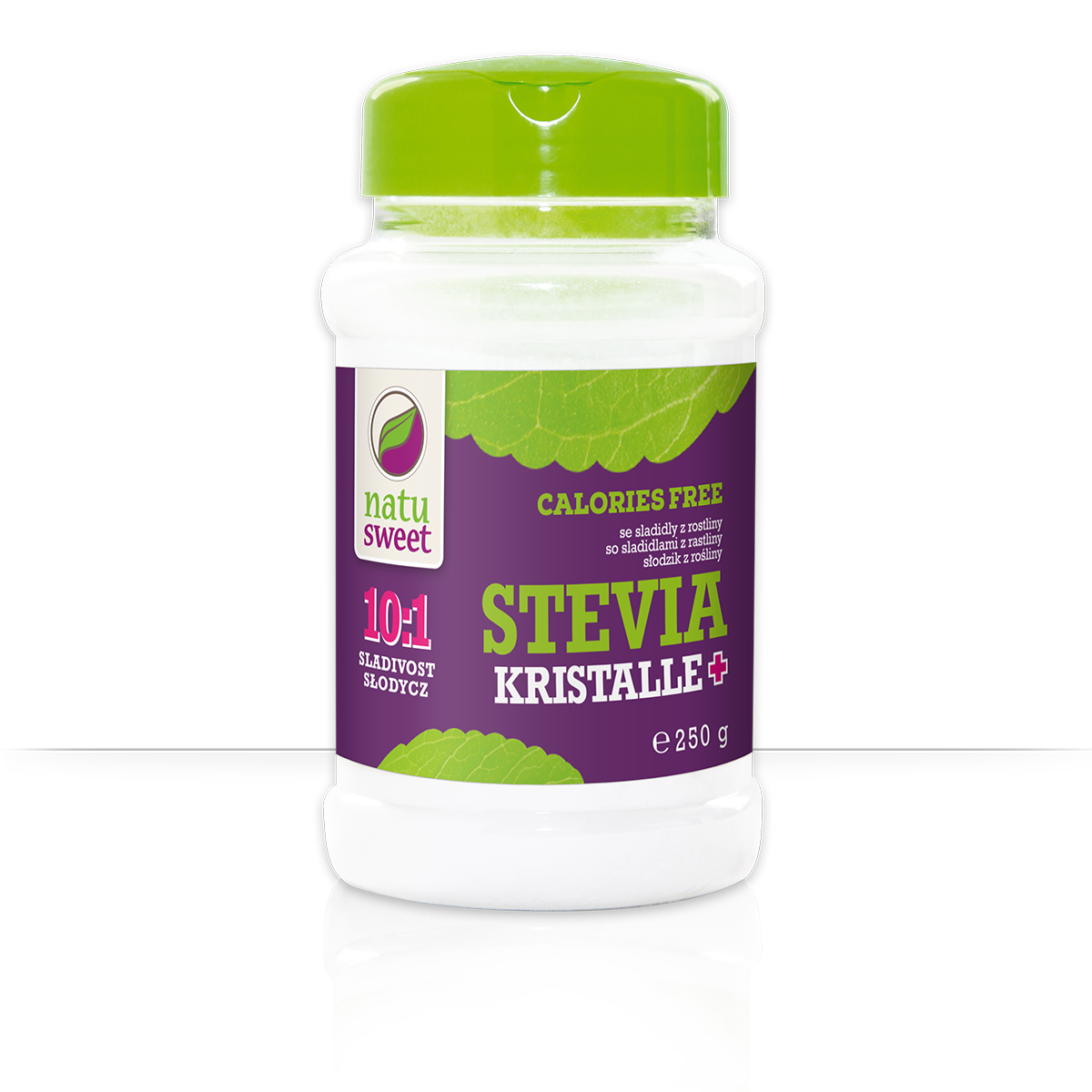 Natusweet Stevia Kristalle Plus