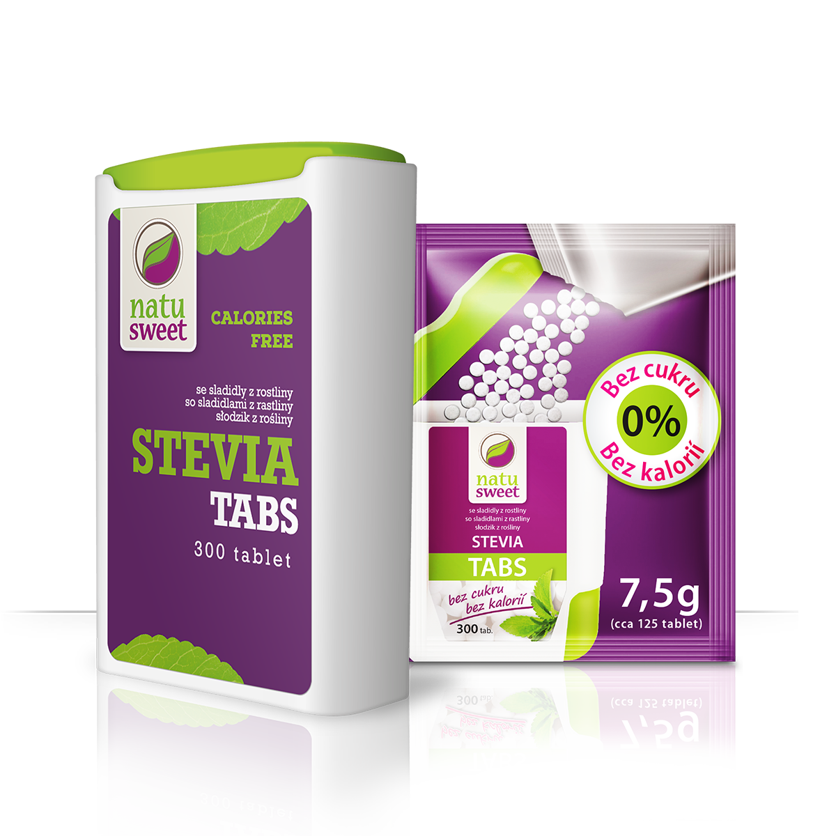 Natusweet Stevia Tabs Tablety